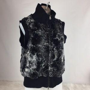 Dylan by True Grit Faux Fur Vest